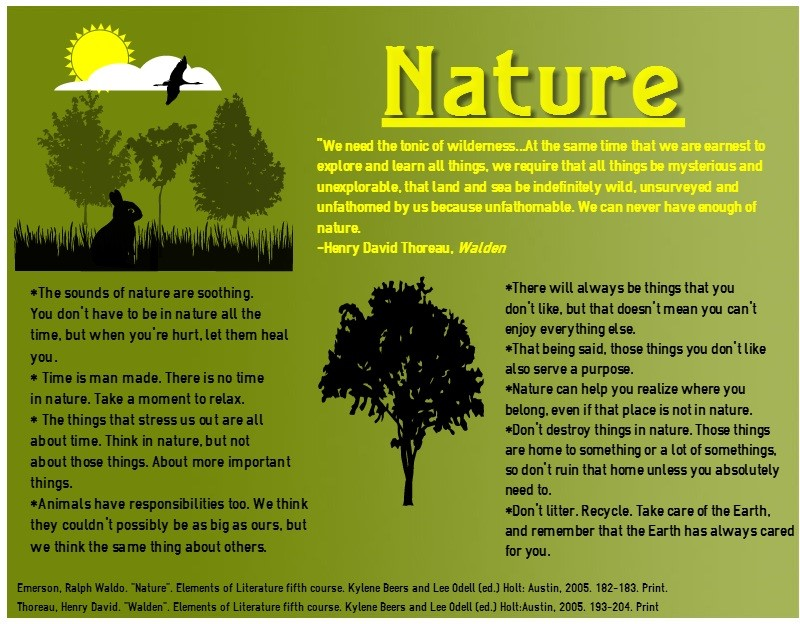 small essay on nature in english Need a unique, good and interesting personal essay topic to write about we have come up with 100 cool topic ideas for college students.