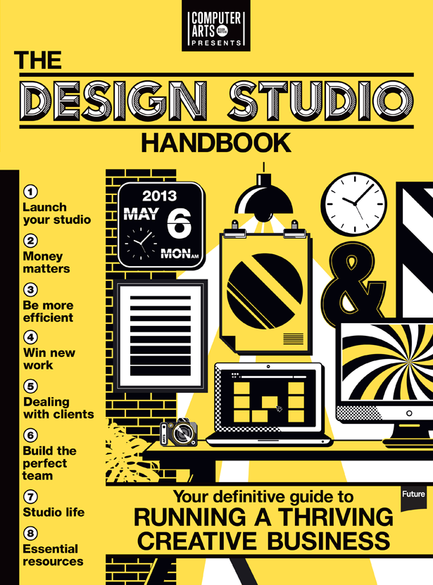 The Design Studio Handbook infographic