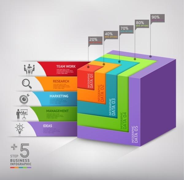 3d Infographics A Few Examples Create Amazing