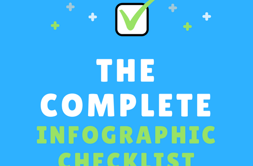 complete infographic checklist
