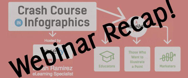 Crash Course In Infographics Live! Webinar Recap!