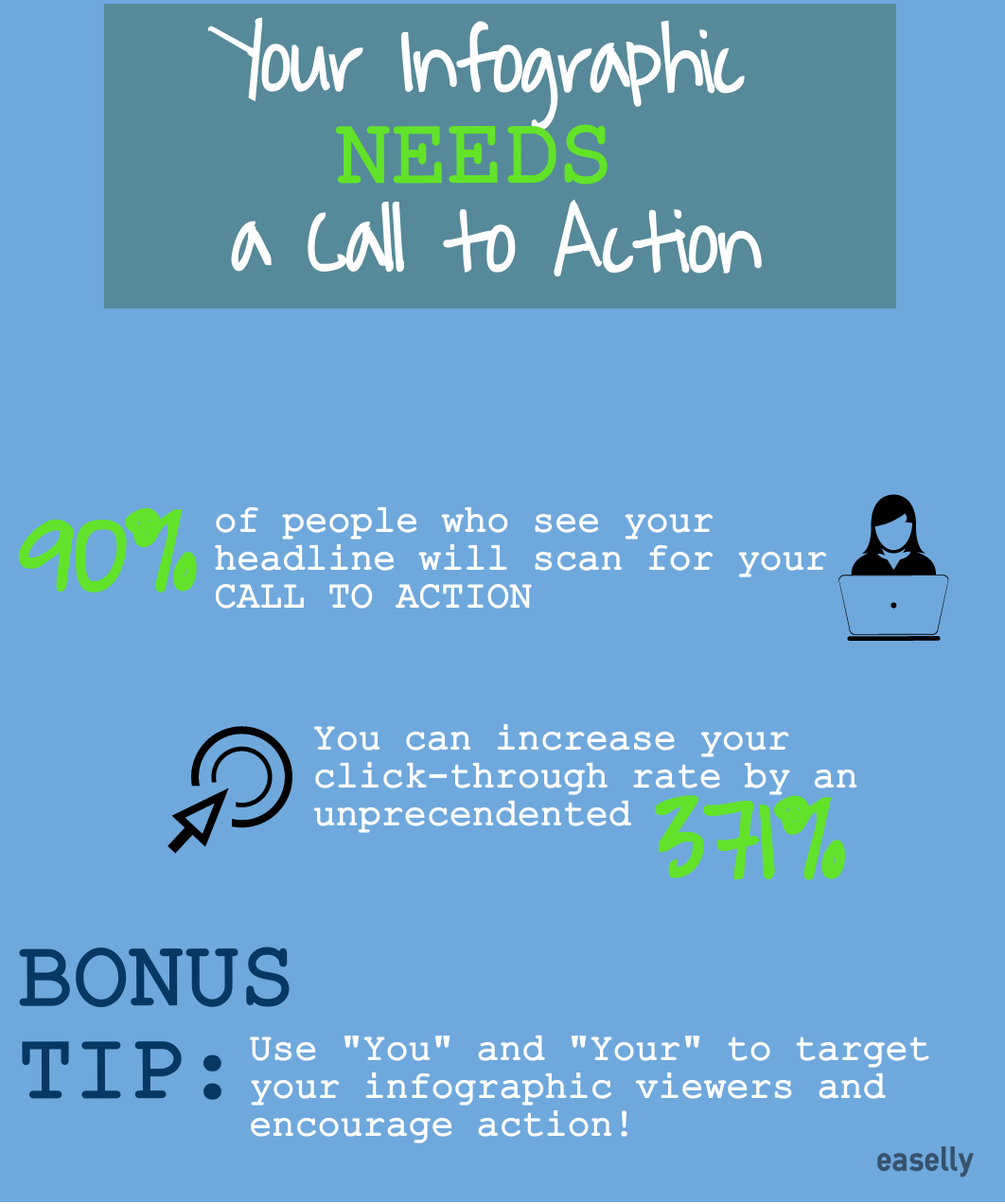 infographic call to action