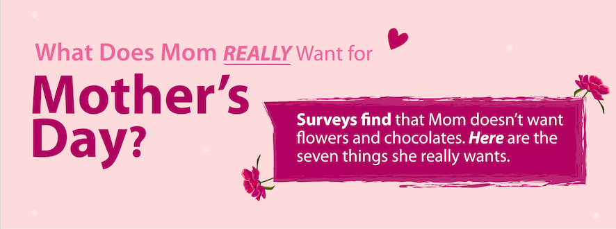 What Does Mom Want for Mother's Day?