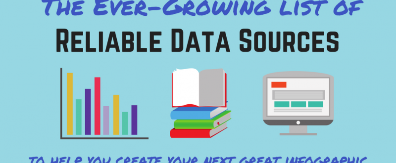 reliable data sources for infographics