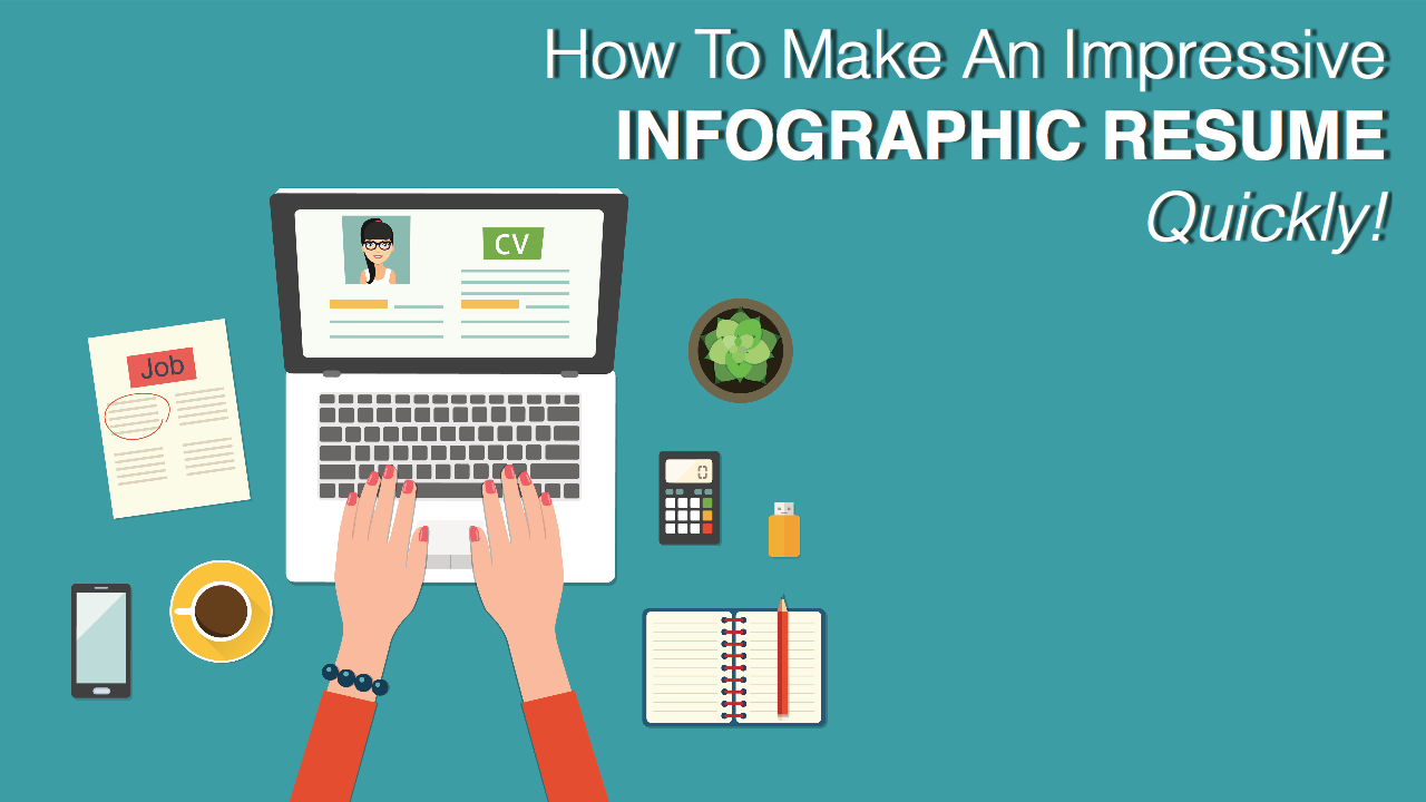 video  how to make an impressive infographic resume