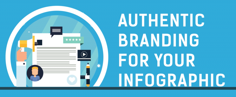 Authentic Branding for Your Infographic