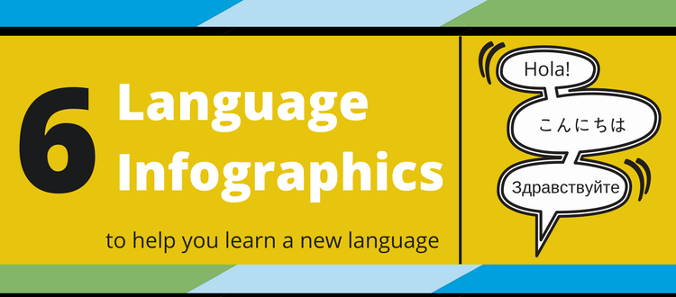 6 Language Infographics for National Foreign Language Week