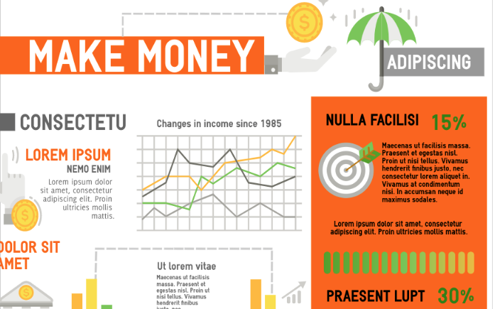 money-infographic