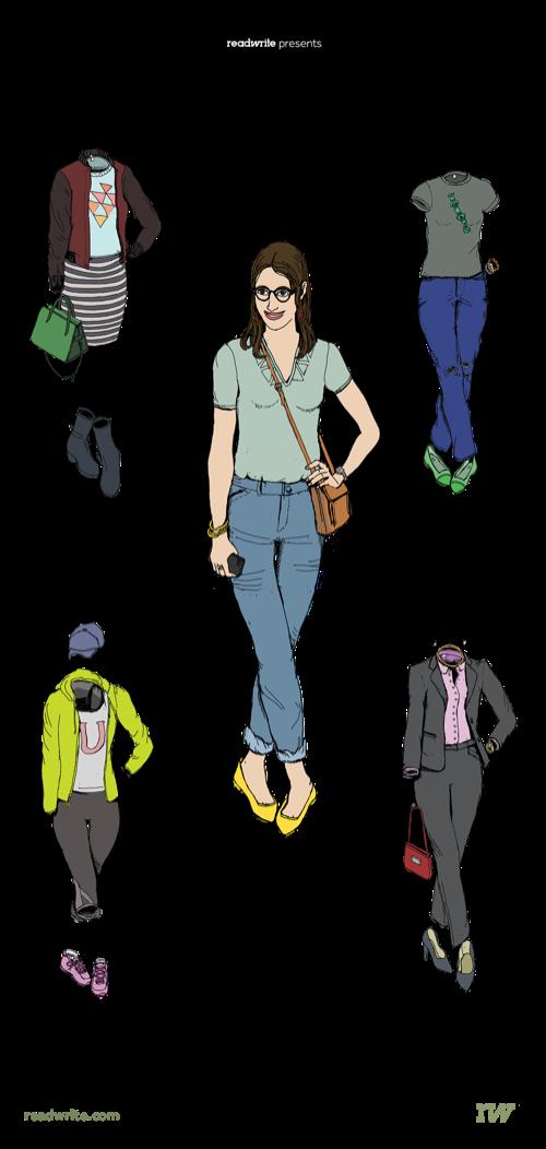 women in tech uniform