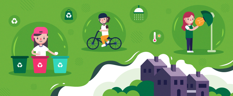 Do You Know Your Carbon Footprint? A Case Study & Infographics