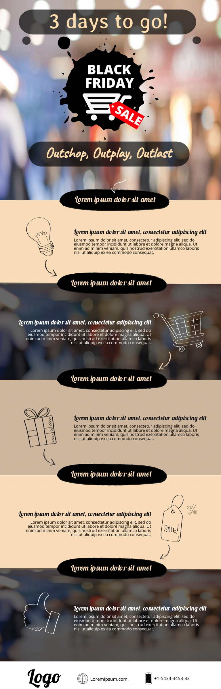 Black Friday Infographic Template