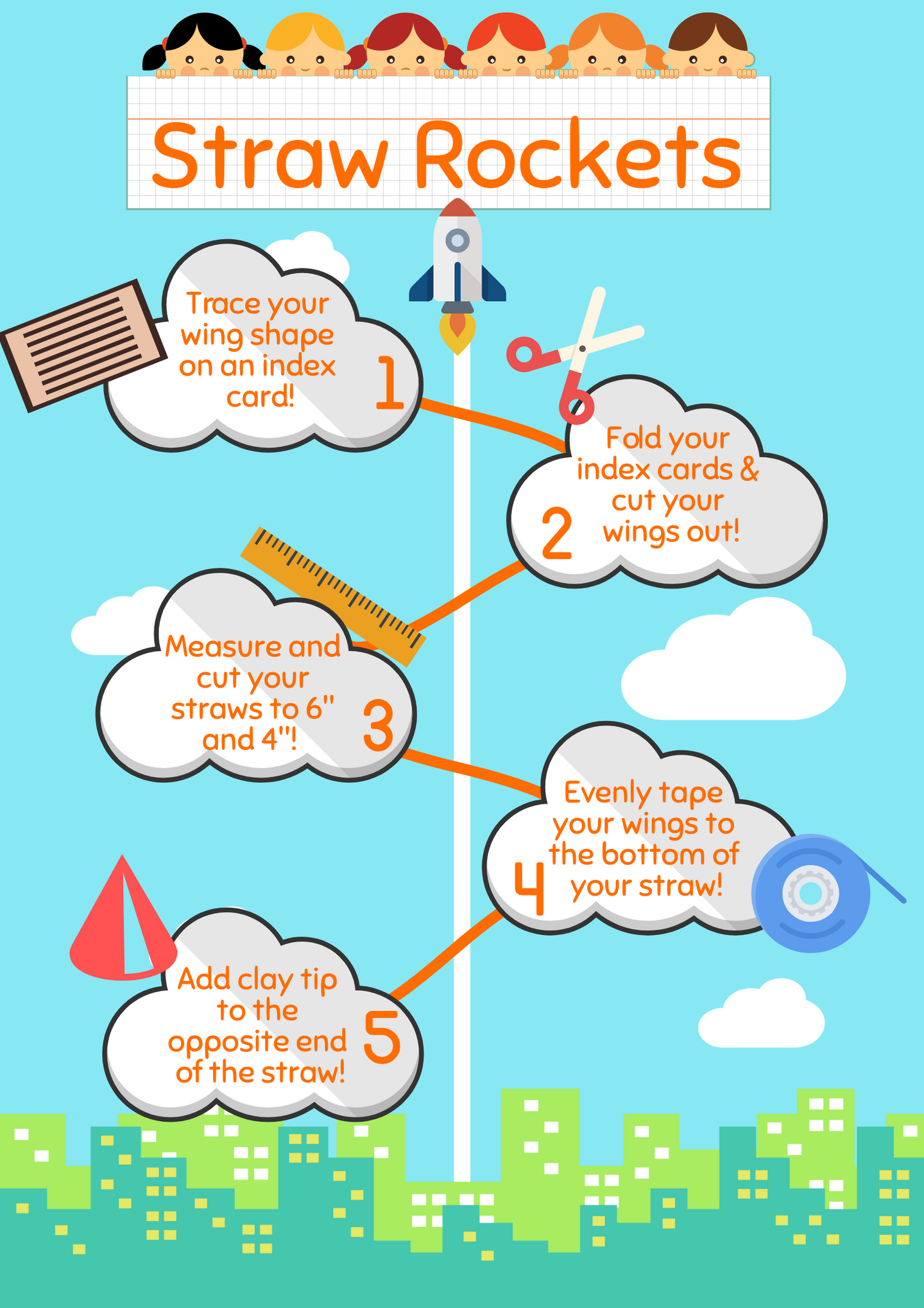 Infographic in the Classroom Example by NYC Teacher Alexandra Giordano