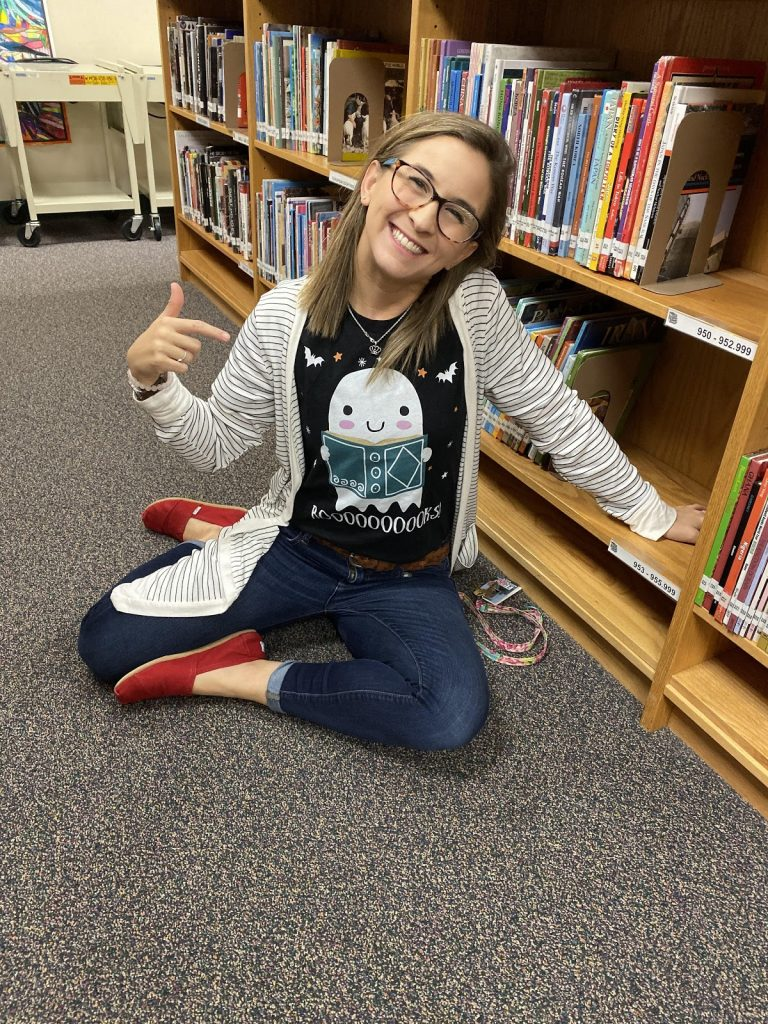 photo of the youngest librarian in Texas