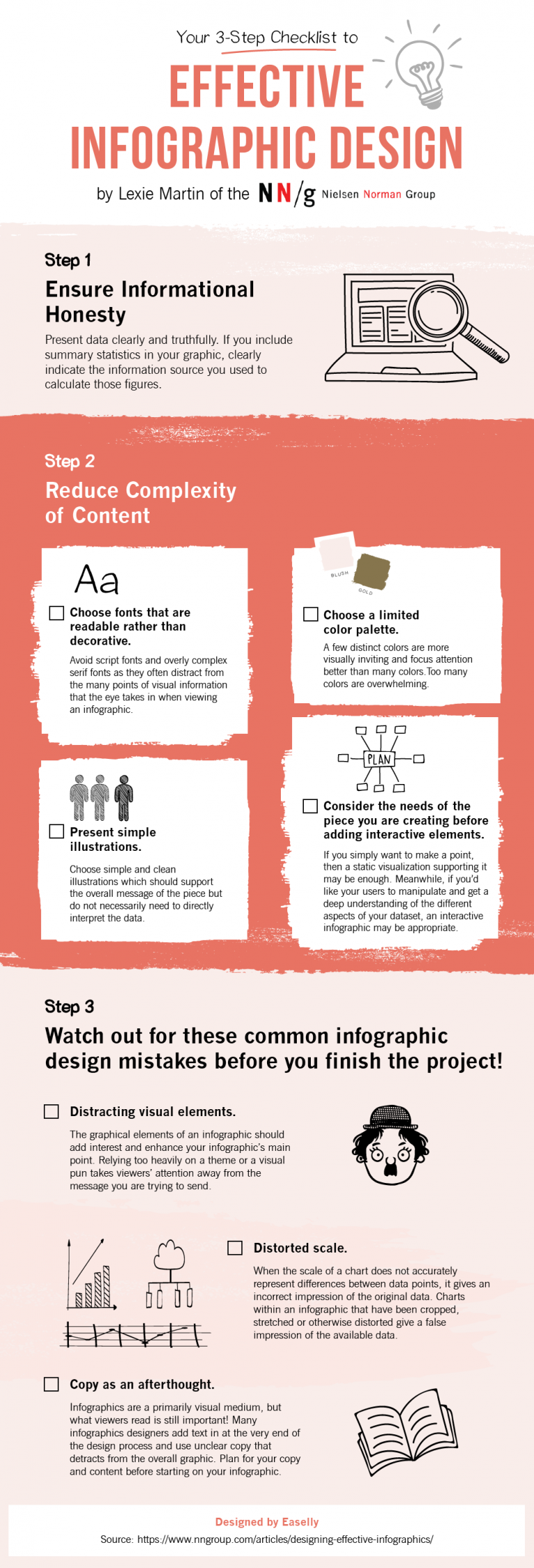 effective infographic design checklist
