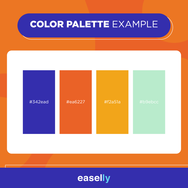 color palette example for your brand
