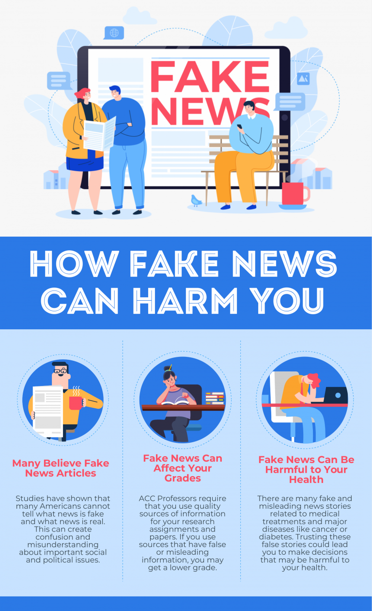 Fake news infographic template