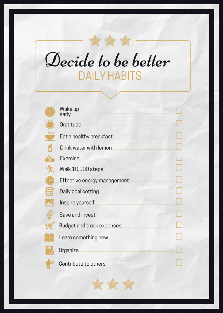 checklist infographic template