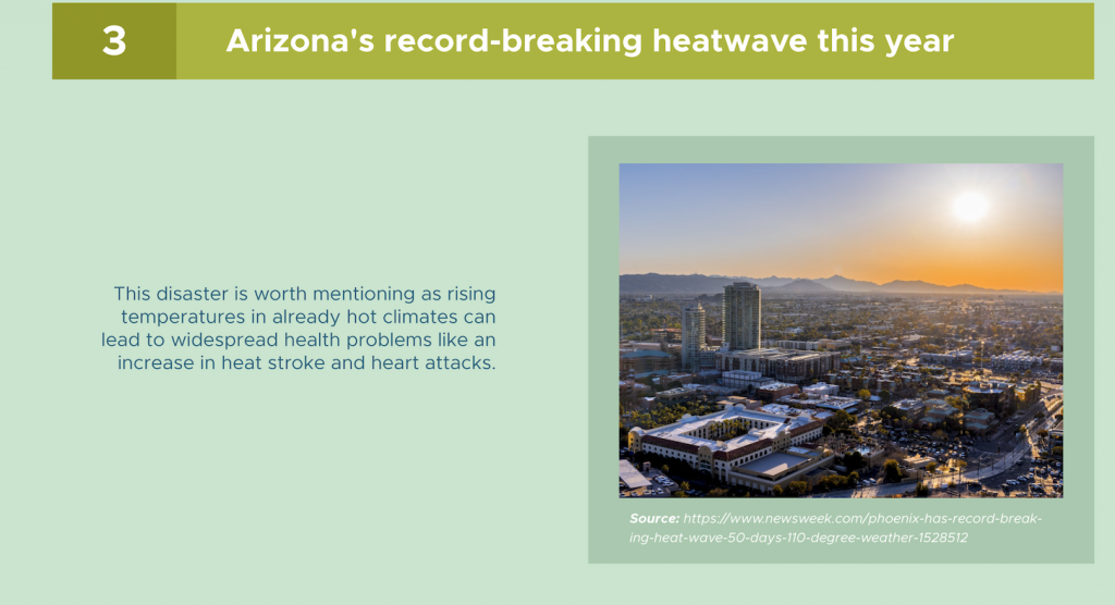 Arizona heat wave 2020