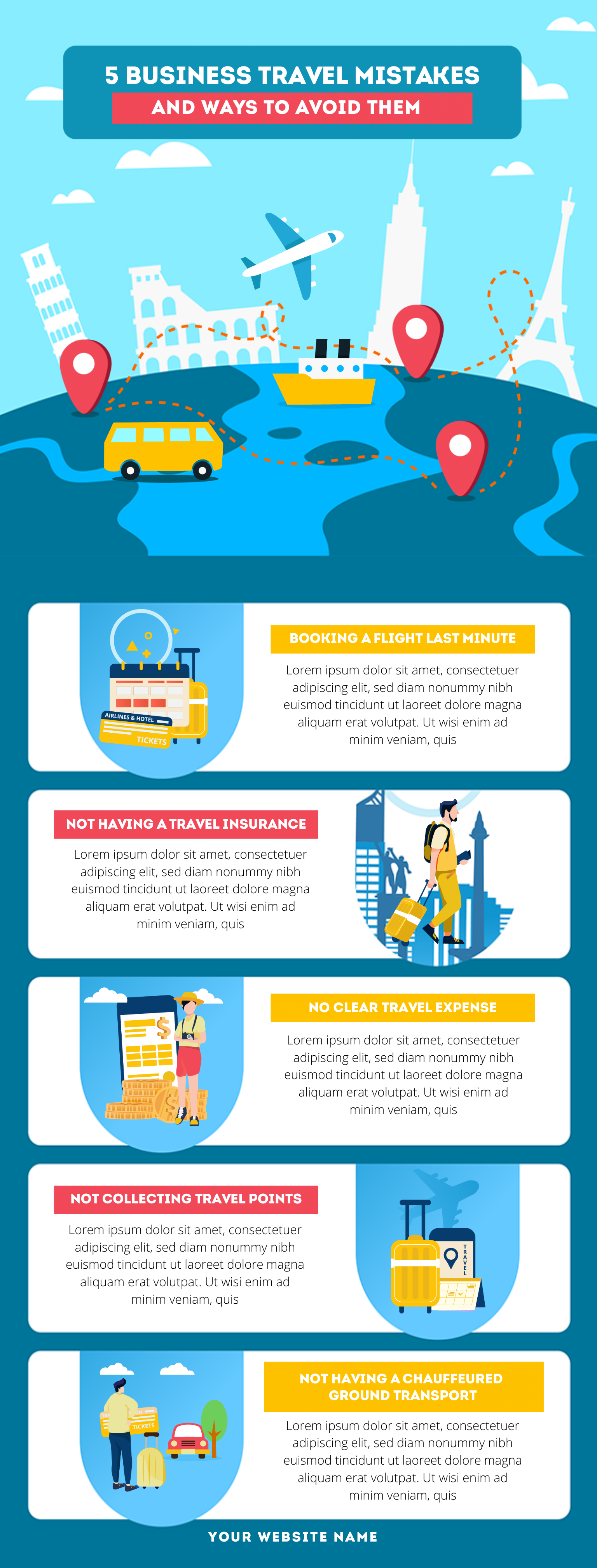 40 Business Infographic Templates And Ideas To Try In 2021
