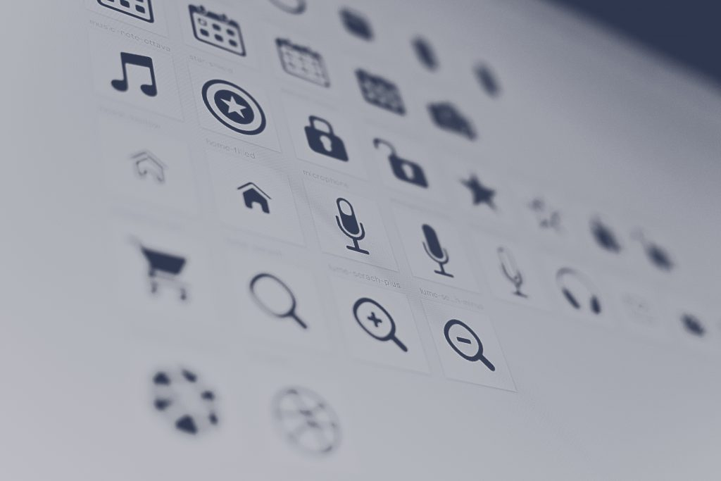 an image of clear icons.