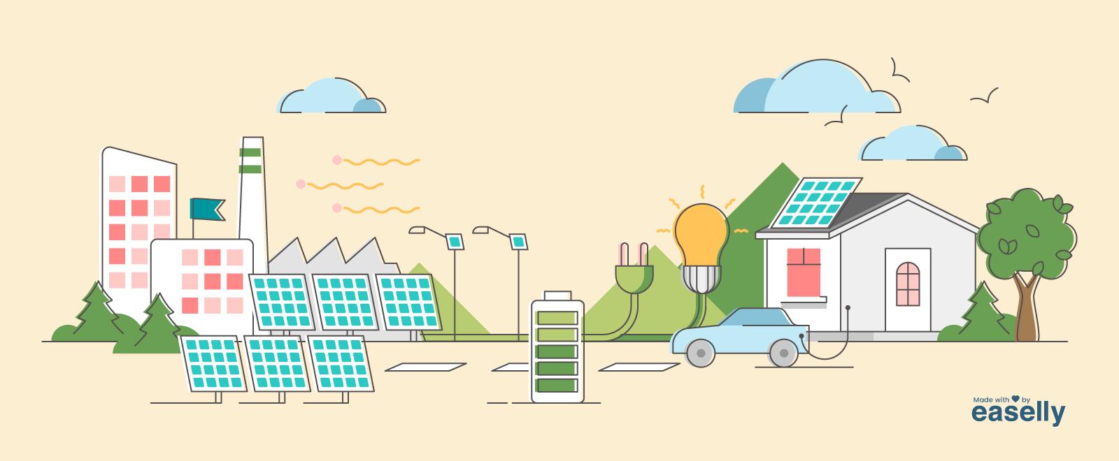 Solar Energy Infographics